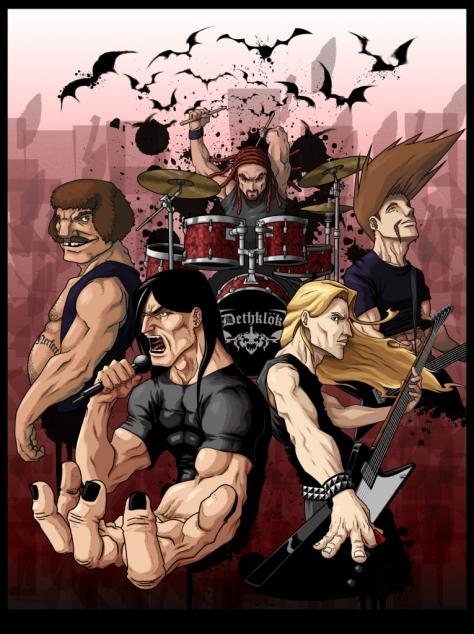 Metalocalypse: animação produzida para os fãs de metal