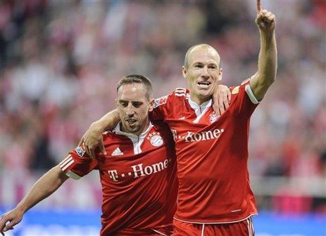 Frank Ribery e Arjen Roben