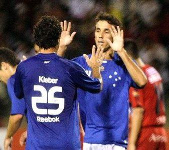 Kléber e Thiago Ribeiro